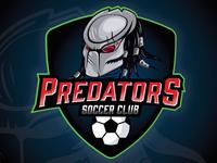 Logo design for Predators Soccer Club.