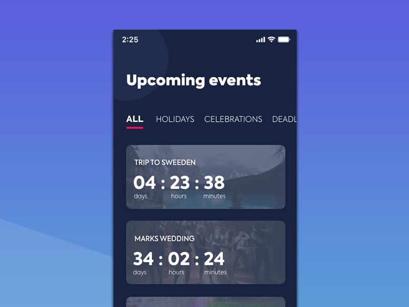 Countdown Timer design ui ux 14 014 timer countdown dailyui