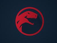 Carbon High School Dino Logo