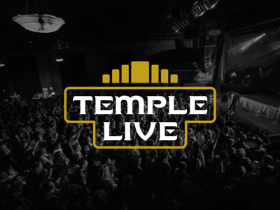 Temple Live Rebrand arkansas fort smith logotype logo identity branding temple temple live music venue