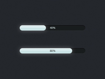Ghostly progress bars progress ui