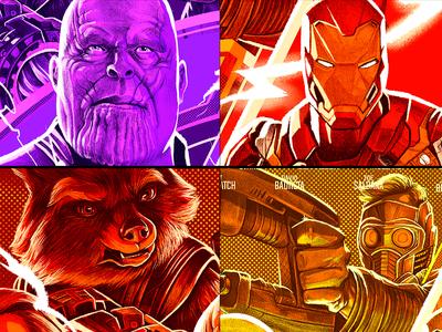 Avengers Infinity War Alternative Poster