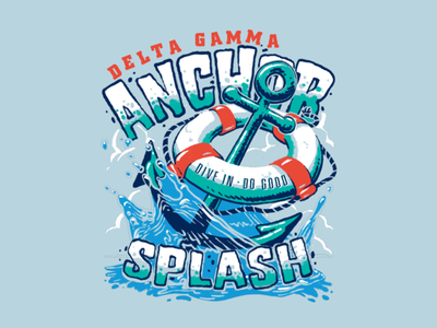 Anchor Splash Tee