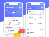 Banking app (shot 1)