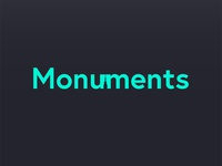 Monument logotype