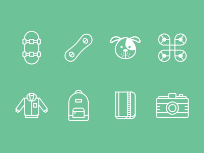 Tracking Device Icons