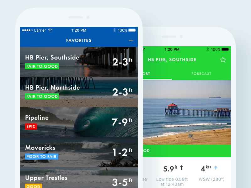 Surfline app
