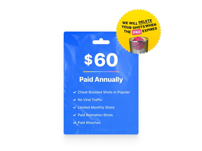 Thanks, No. Dribbble. product pricing plans price ui gift card pricing