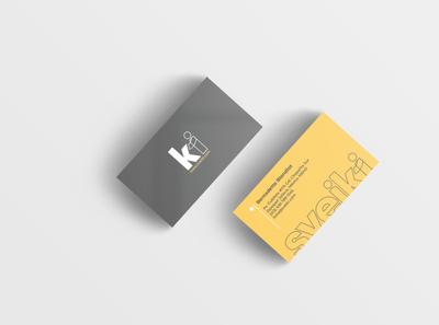Tarjeta de presentacion sveiki website illustrator app ui logo minimal branding vector design