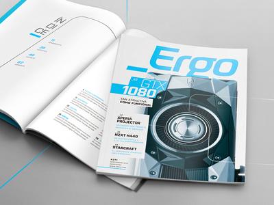 """_Ergo"" - Editorial Design"