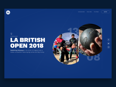 La British Open figma codecanary frenchtech techloirevalley frontend webdesign ux ui