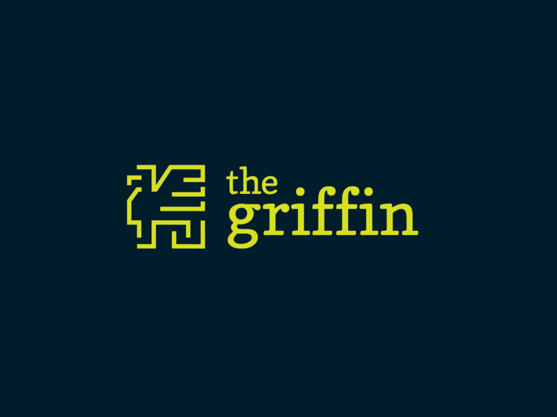 New Girl / The Griffin dribbbleweeklywarmup illustration logo