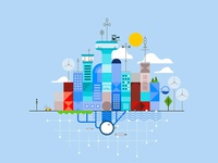Style Frame IBM Smart City
