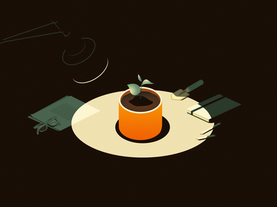 Care design graphic design branding vector minimal flat night light illustration