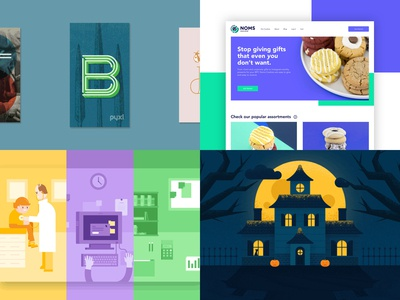 2018 Dribbble Year in Review