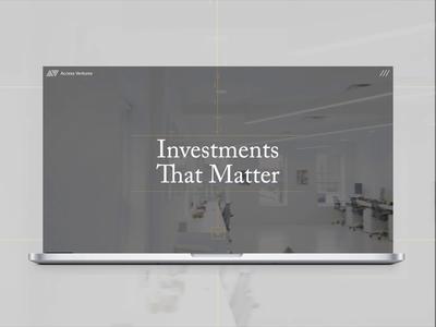 Access Ventures Branding + Website