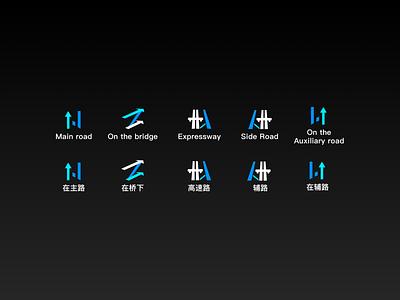 SmartNavi_HMI Guidance手动定位ICON ui icon