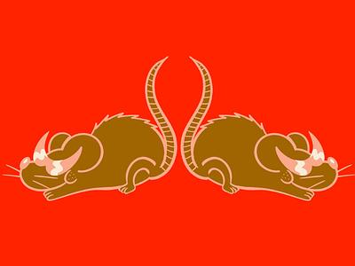 Ratbois cool sunglasses mice mouse rat biker texture cartoon character cartoon illustration character design retrosupplyco digital illustration truegritsupply illustrator procreate illustration