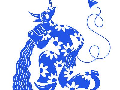 WIP of Zodiac Chart ram fish water aquarius aries pisces cyclops design retro zodiac retrosupplyco digital illustration truegritsupply illustrator procreate illustration