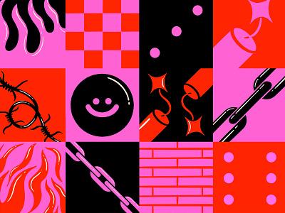 :) branding design digital illustration truegritsupply illustrator procreate illustration