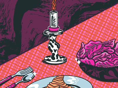 Still Life #3 stilllife design retrosupplyco digital illustration truegritsupply illustrator procreate illustration
