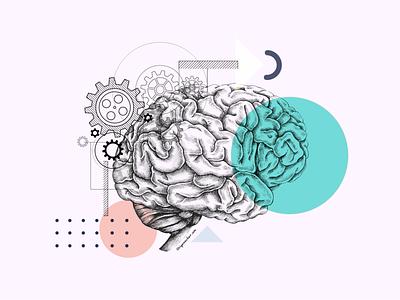 Brainstorming - Decoupage Collage Concept Art creative illustrator cc adobe wacom illustration ui concept art collage art collage