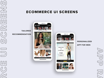Recommendation screen for eCommerce App