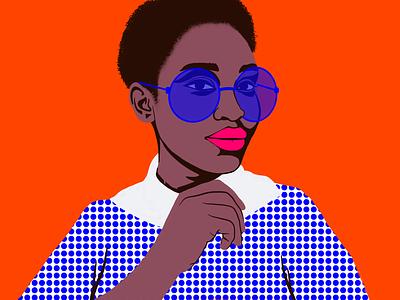 Beauty Standard 5 women ipadpro procreate minimal portraits graphic art illustration