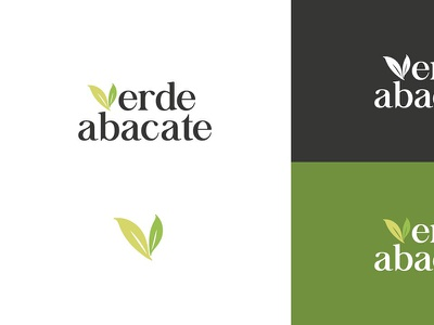 Verde Abacate | Logo Variations leaf green icon logo visual identity