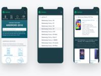 Mobile User Scenario - Search Product