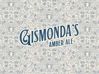 Gismonda's Amber Ale logo