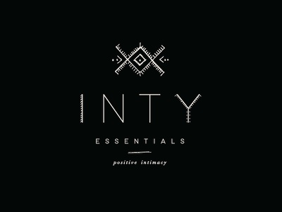 Inty Essentials custom font illustrations branding