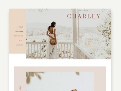 Ready-Made Theme, Charley, Designed by Studio 9 Co wordpressdesign wordpresstheme wordpress blogdesign website design