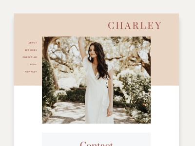 Ready-Made Theme, Charley, Designed by Studio 9 Co wordpress premadetheme wordpresstheme blog design website design
