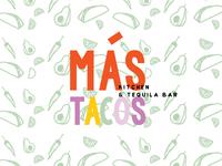 Mas Tacos Branding by Studio 9 Co