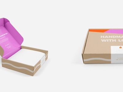 Ansha Packaging Design by Studio 9 Co print packaging design mailers brand development