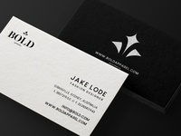 Bold Apparel Business Cards