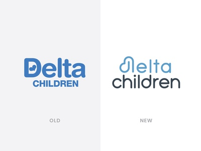 Delta Children Logo Redesign