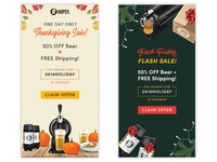 Holiday Email Designs