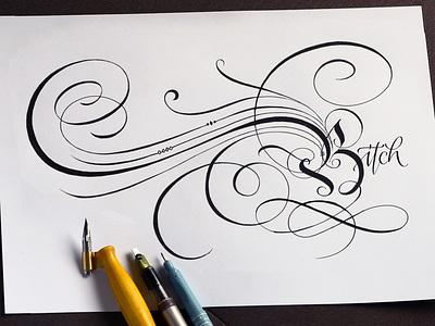 Flourish practive logodesign typography logotype calligraphy lettering flourishing flourishes
