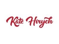 Kate Hyrich personal logo