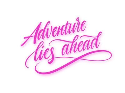 Adventure lies ahead