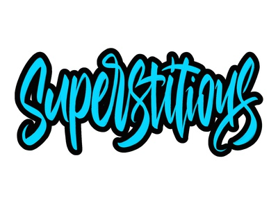 Superstitious lettering
