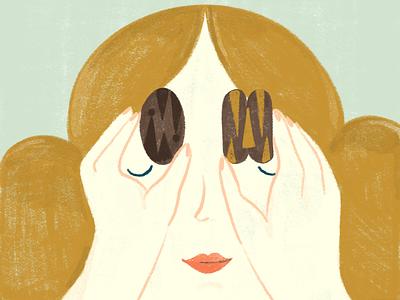 Pecan Pie pecan pastry book editorial digital illustration