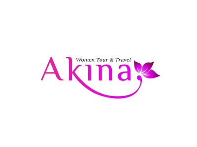 Akina Logo travel simple logo feminim logo logo