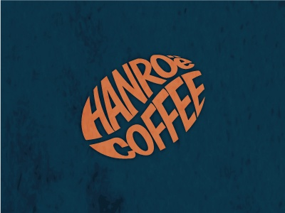 Hanroe Coffee Logo coffee logo brand coffee logo