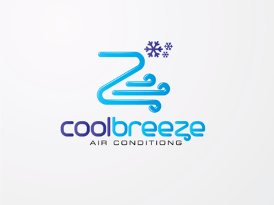 air conditioning service logo brand design idea illustration logobranding logo design cool design snow cool