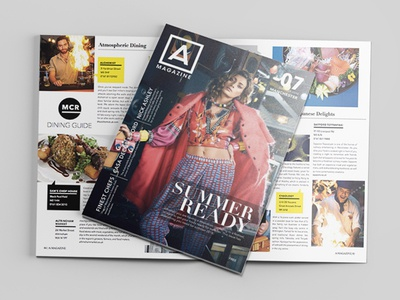 A-Magazine Editorial Layout