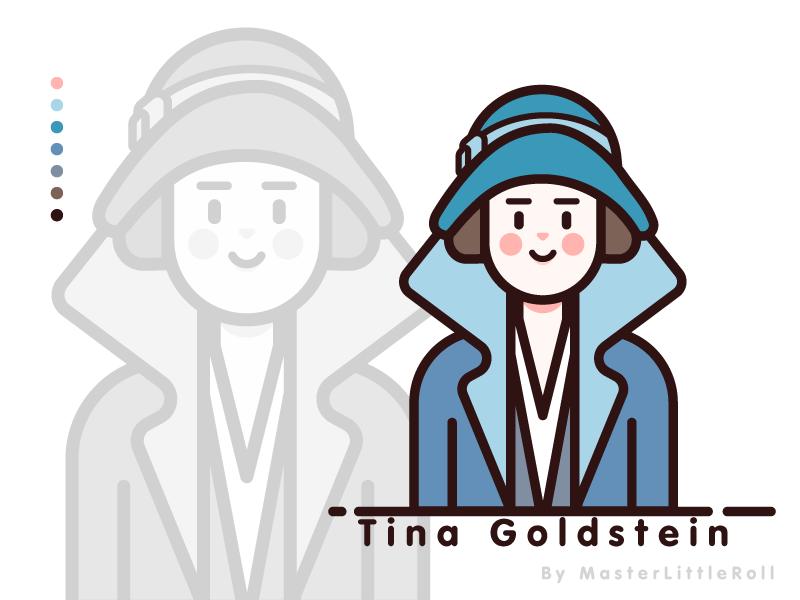 Fantastic Beasts_Tina Goldstein moviecharacter movie draw vectorwork vectorillustration figuredrawing girl figure fantastic beasts drawing character vector illustration