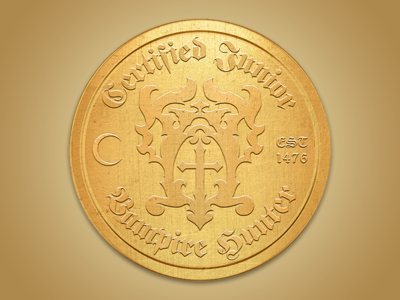 Castlevania Vampire Hunter Emblem